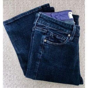 PAIGE | Mid-Rise Boot Cut Jean | Size 24